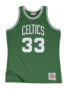 Boston Celtics 1985-86 Larry Bird Swingman Jersey