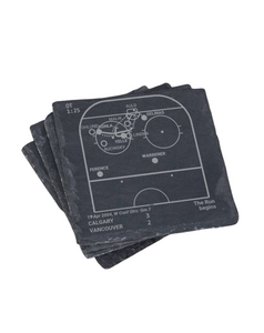 Calgary Flames Greatest Plays in Sports Coasters