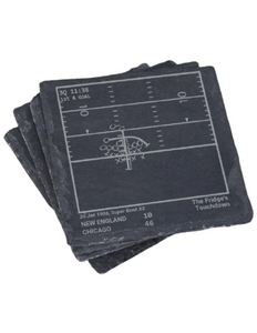 Chicago Bears Greatest Plays in Sports Coasters