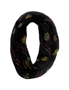 Chicago Blackhawks (Black) Wool & Cashmere Infinity Scarf