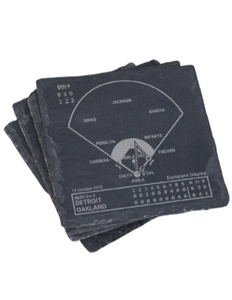Detroit Tigers Greatest Plays in Sports Coasters
