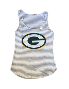 Green Bay Packers Sugar Grey Tank