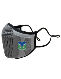 Hartford Whalers Retro Core Logo Adult Face Mask