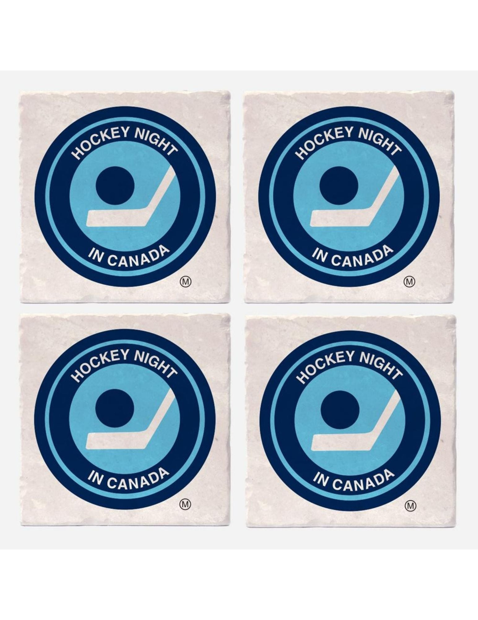 Hockey Night in Canada Retro Logo Coasters