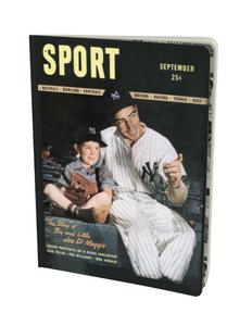 Joe DiMaggio September 1946 Sport Notebook
