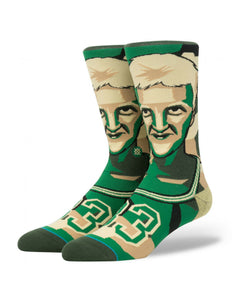 Larry Bird (Mosaic) Instance NBA Player Socks