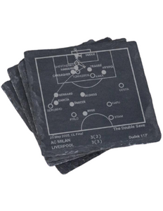 Liverpool F.C. Greatest Plays in Sports Coasters