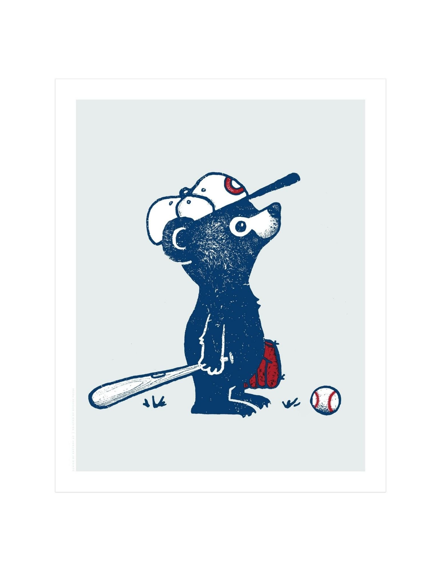 Lovable Loser Screen Print (Chicago Cubs)