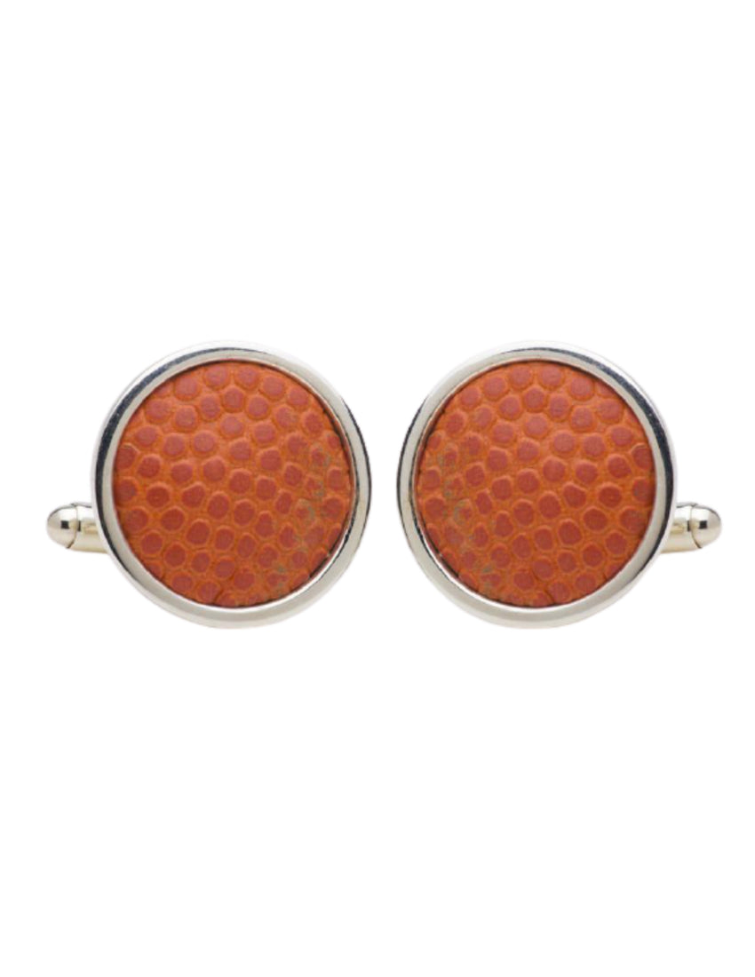 Madison Square Garden Game-Used Basketball Cuff Links