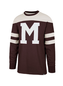 Montreal Maroons Jersey-Inspired Gunner Sweater