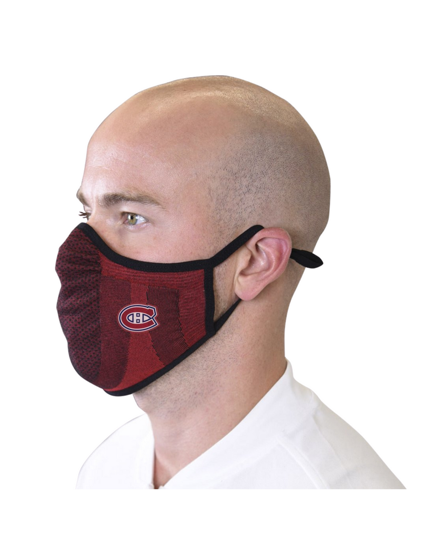 Montreal Canadiens Core Logo Adult Red Face Mask