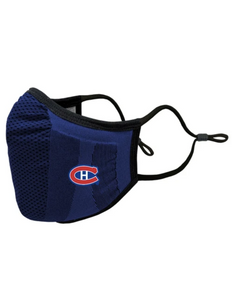 Montreal Canadiens Core Logo Adult Blue Face Mask