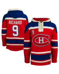 Montreal Canadiens Maurice Richard Alumni Lacer Hoody