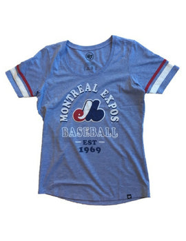 Montreal Expos MLB Women's Fantasy Scoop Tee