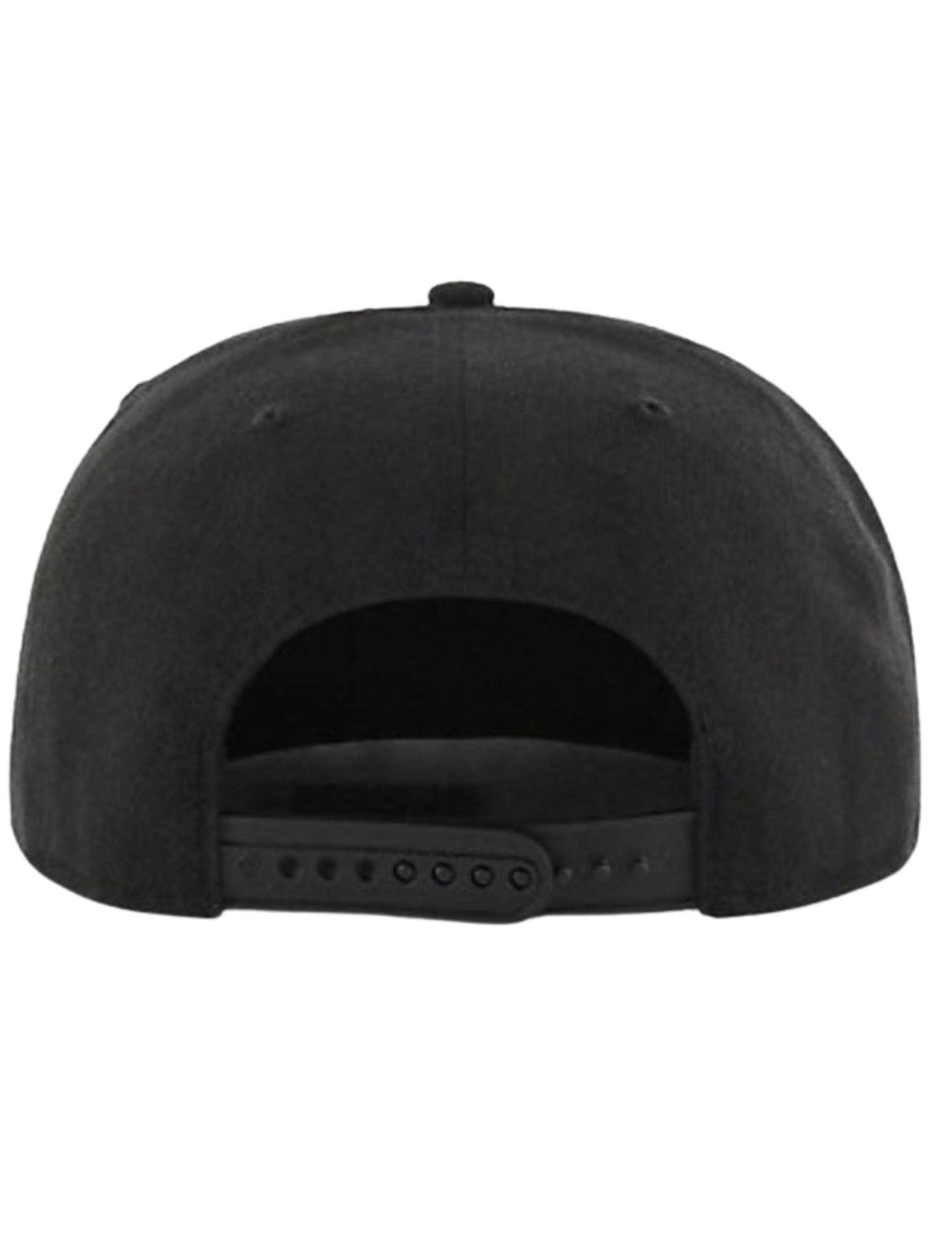 Montreal Expos MLB Sure Shot Captain Snapback (All Black)