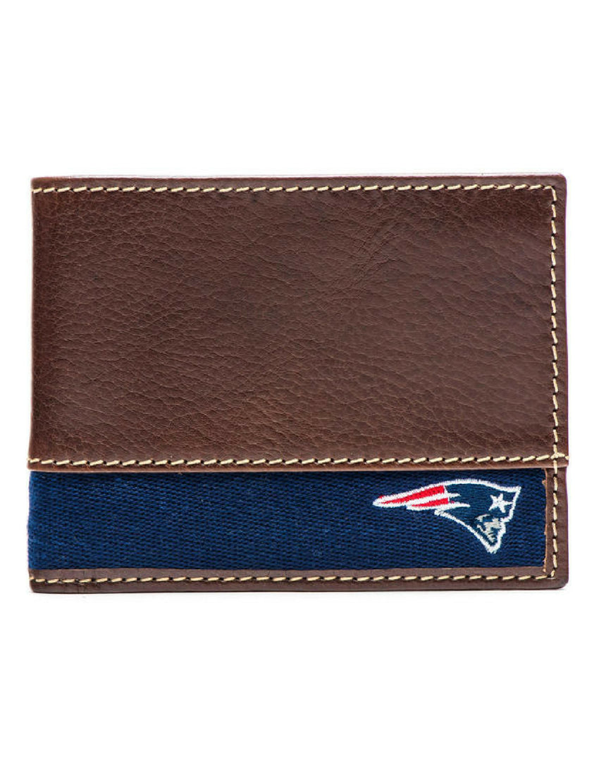 New England Patriots Slim Bifold Wallet