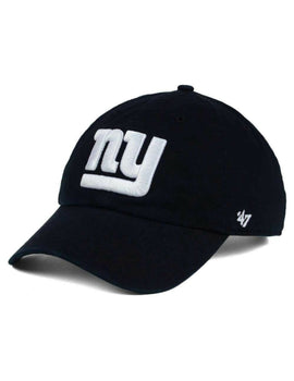 New York Giants Clean Up Hat (Black)