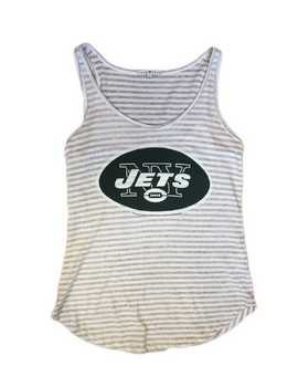New York Jets Sugar Grey Tank
