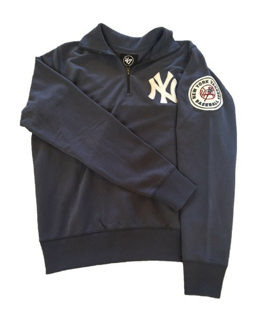 New York Yankees Borderland 1/4 Zip Sweater