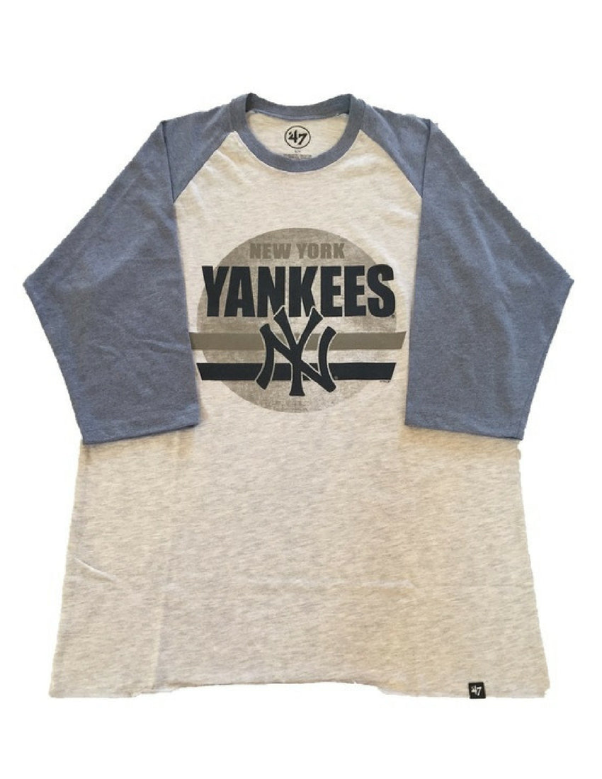 New York Yankees Stadium Raglan Long Sleeve
