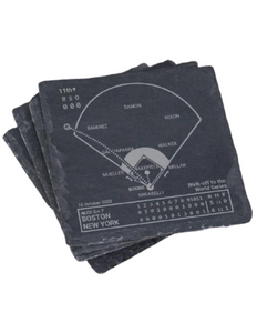 New York Yankees Modern Era Greatest Plays in Sports Coasters