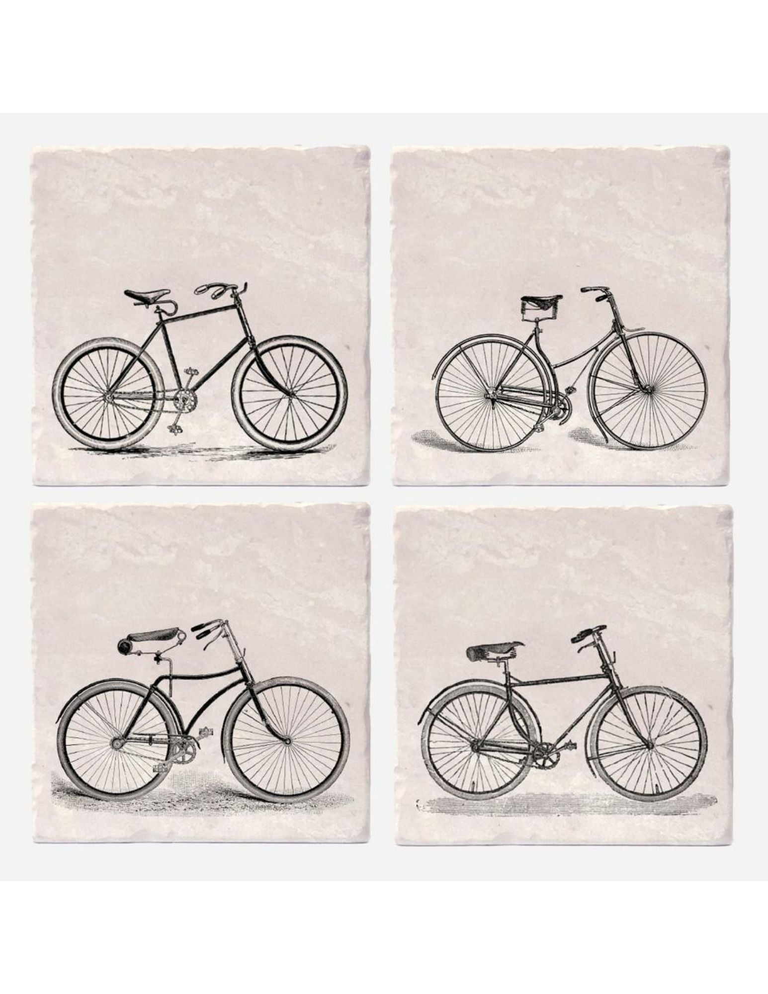 Old Timey Bicycle Coasters