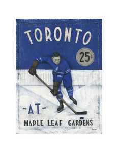 Paine Proffitt 1-of-1 Maple Leaf Gardens Painting