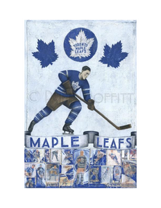 Paine Proffitt 1-of-1 Toronto Maple Leafs Painting