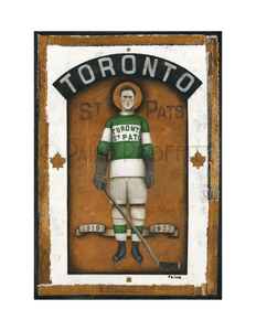 Paine Proffitt 1-of-1 Toronto St. Pats Painting