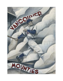 Paine Proffitt 1-of-1 Vancouver Mounties Painting