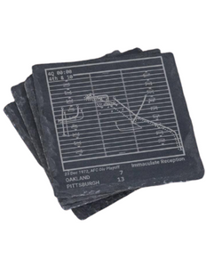 Pittsburgh Steelers Greatest Plays in Sports Coasters