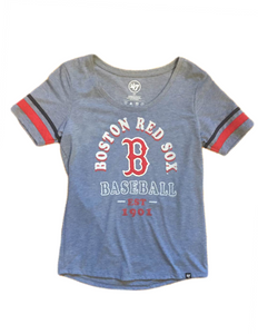 Boston Red Sox MLB Women's Fantasy Scoop Tee