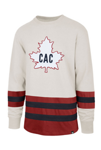 Montreal Canadiens Center Ice Vintage-Inspired Jersey (Barbershop/CAC)