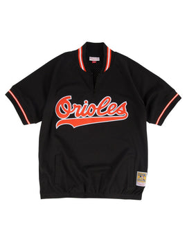 Baltimore Orioles 1993 Cal Ripken Jr. 1/4 Zip Authentic Replica BP Jersey