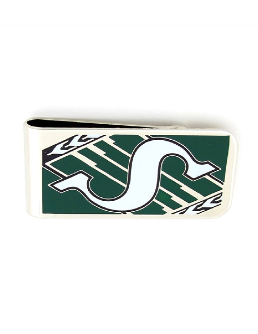 Saskatchewan Roughriders Metal Money Clip