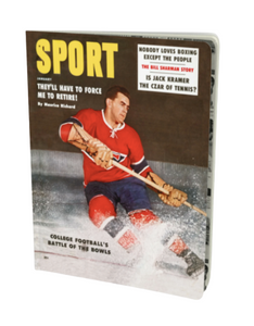 Maurice Richard January 1959 Sport Notebook