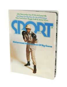 Muhammad Ali September 1974 Sport Notebook