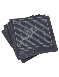 Seattle Seahawks Greatest Plays in Sports Coasters
