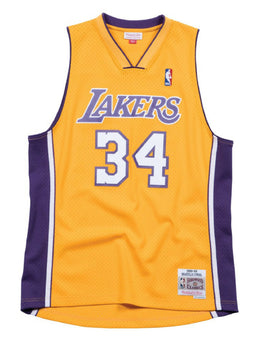 Los Angeles Lakers 1999-00 Shaquille O'Neal Swingman Jersey