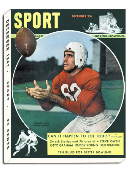 December 1947 SPORT Cover (Charli Trippi, Chicago Cardinals)