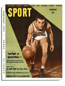 January 1947 SPORT Cover (Andy Phillip, University of Illinois)