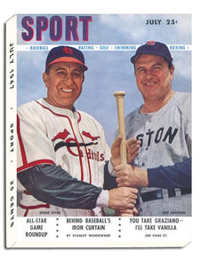 July 1947 SPORT Cover (Eddie Dyer, St. Louis Cardinals, Joe Cronin, Boston Red Sox)