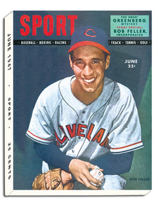 June 1947 SPORT Cover (Bob Feller, Cleveland Indians)