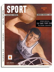 March 1947 SPORT Cover (Alex Groza, University of Kentucky)