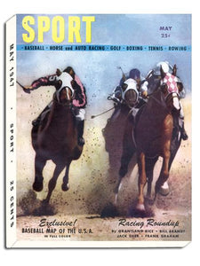 May 1947 SPORT Cover (Horse Racing)