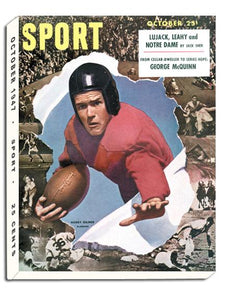October 1947 SPORT Cover (Harry Gilmer, University of Alabama)