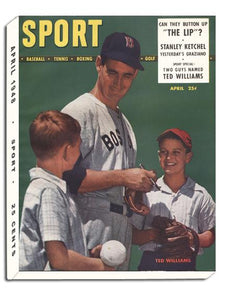 April 1948 SPORT Cover (Ted Williams, Boston Red Sox)