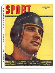 December 1948 SPORT Cover (Johnny Lujack, Chicago Bears)