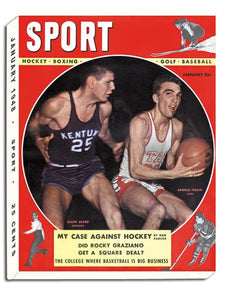 January 1948 SPORT Cover (Ralph Beard, University of Kentucky, Arnold Ferrin, University of Utah)