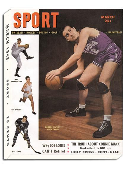 March 1949 SPORT Cover (Ralph Beard, University of Kentucky)